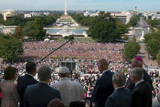 'God bless America'…
