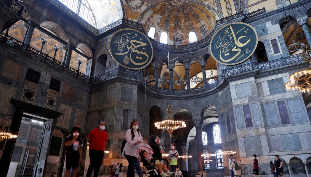 Istanbul's iconic Hagia Sophia can be turned back into mosque, court rules…