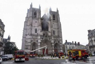 Nantes cathedral fire: Altar server charged with arson…