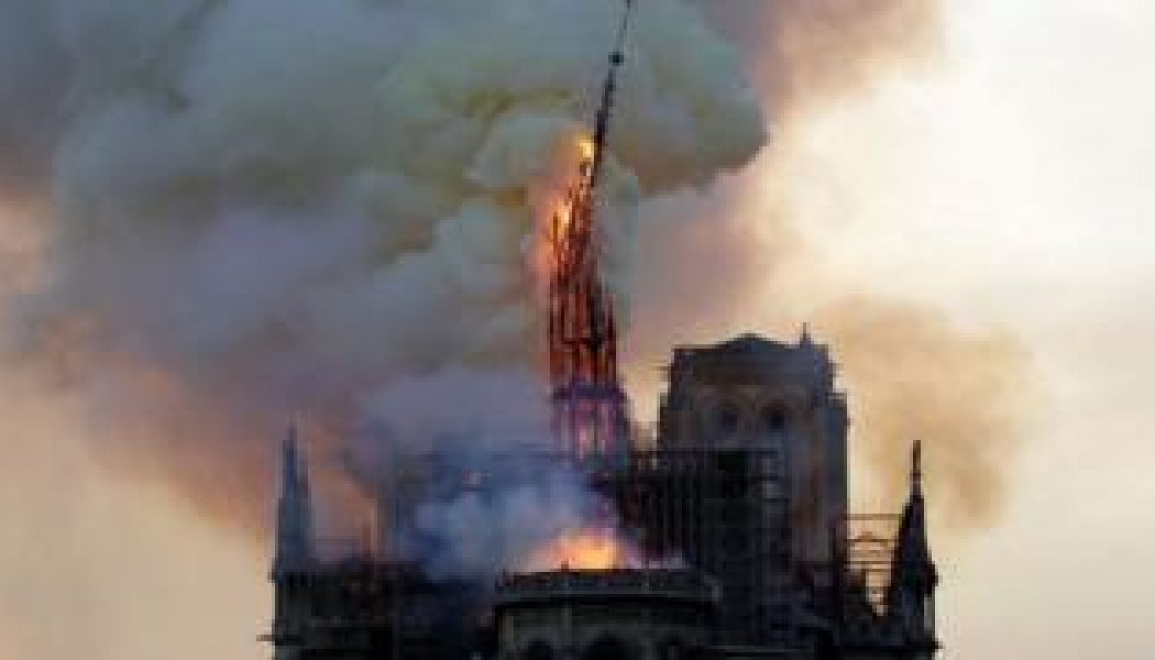 Notre Dame Cathedral's spire will be restored to 19th-century design, French President Macron announces…