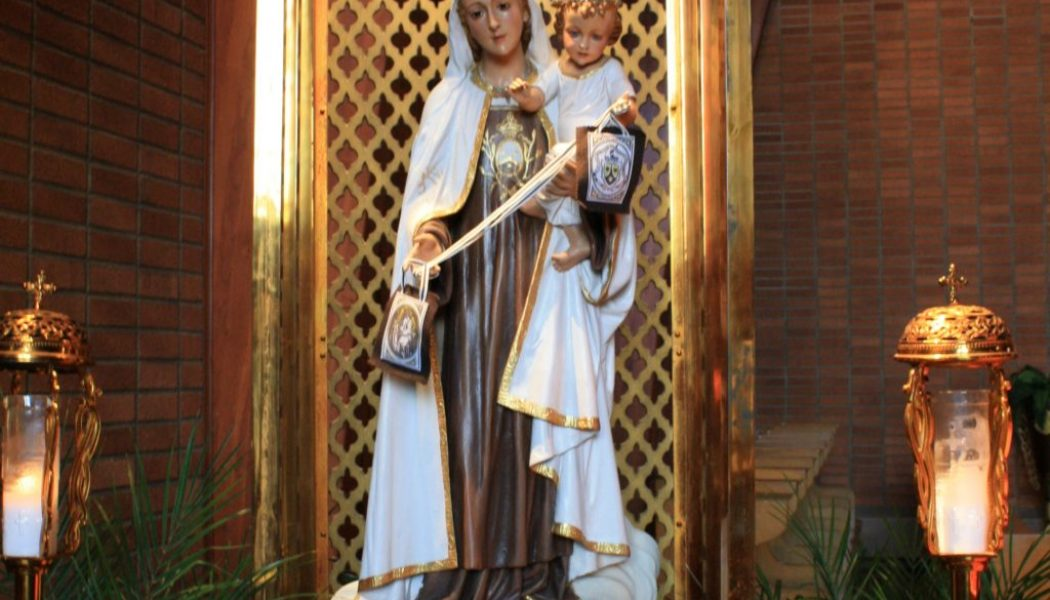Our Lady of Mount Carmel and the brown scapular devotion of Fatima…