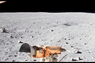 This enhanced footage of Apollo 16 will make you feel like you're on the Moon with the astronauts…