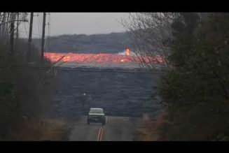 Video: Did you know lava could move this fast? Neither did we…..