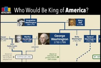 Who would be King of America if George Washington had been made a monarch?