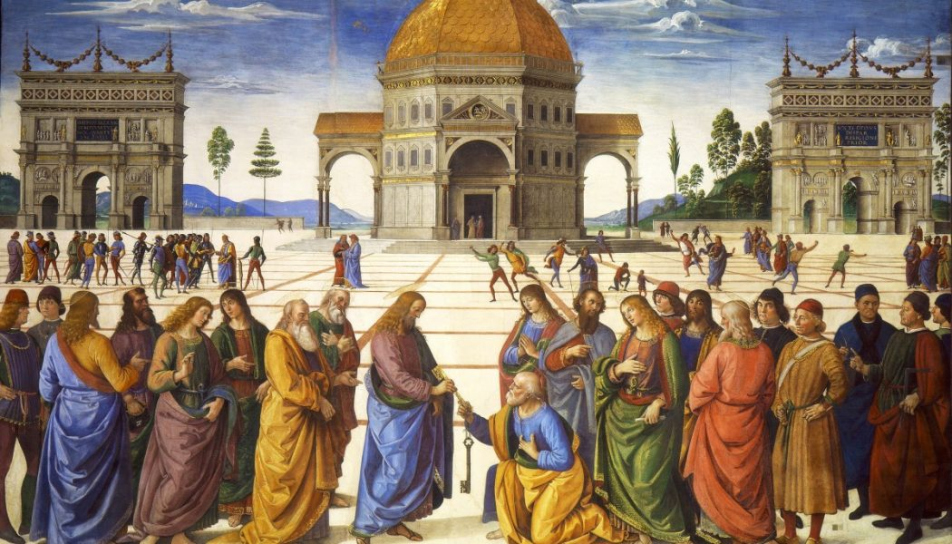 21st Sunday of Ordinary Time — Is the pope in the Bible?