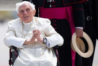 "Benedict XVI ""very frail,"" says biographer; suffering from facial shingles since visit to Germany…"