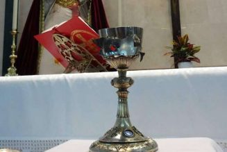 Chalice shot by ISIS militants to make tour of churches…