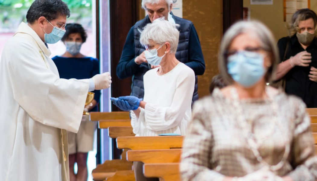 COVID-19 has changed the way Europeans go to Mass — for the worse…