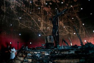 Firebomb attack damages chapel, centuries-old image of Christ at Managua's cathedral…