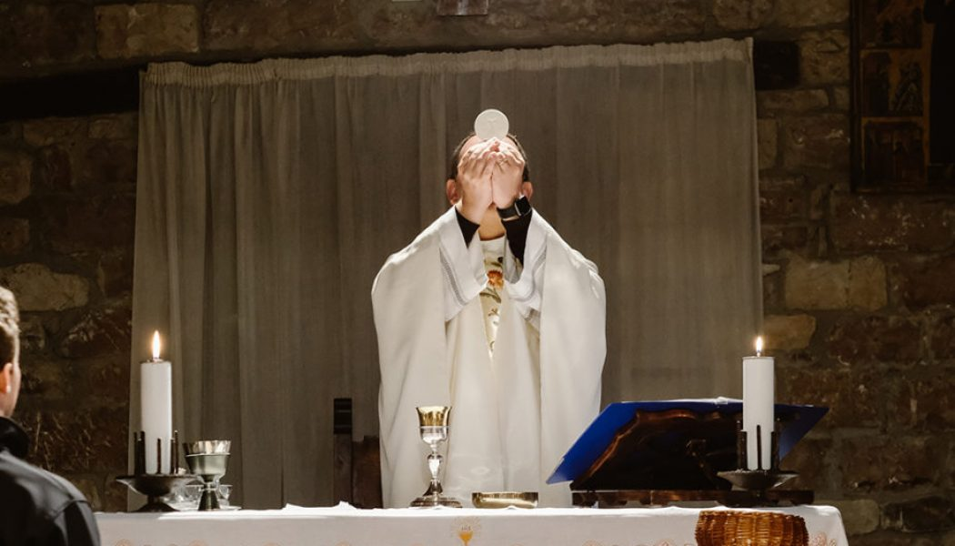 Rediscovering the reality of the Holy Eucharist…