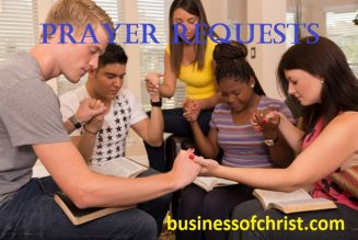 Today's Prayer Requests