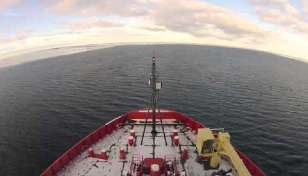 Two months on an icebreaker in Antarctica, condensed into five minutes…