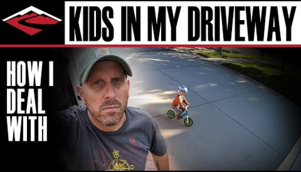 Viral video: How I dealt with kids playing in my driveway…..