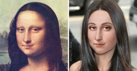 Here's what 40 famous historical figures would look like today…