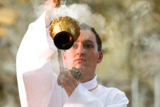 How incense at Mass might reduce airborne diseases…