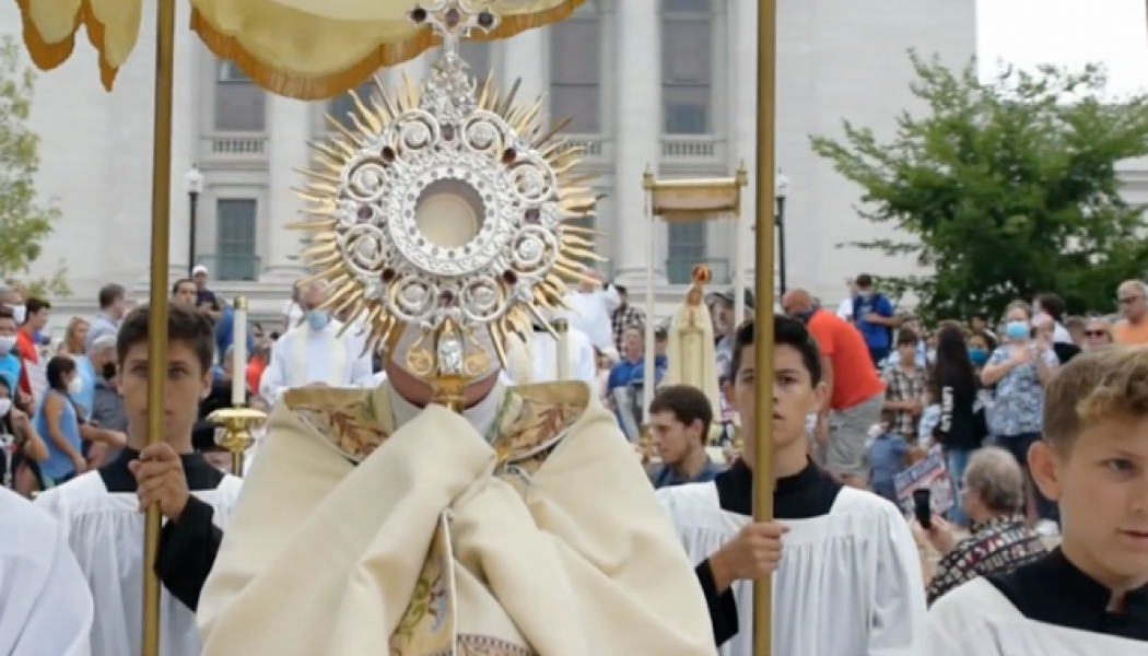 New organization working to promote Eucharistic Processions nationwide…