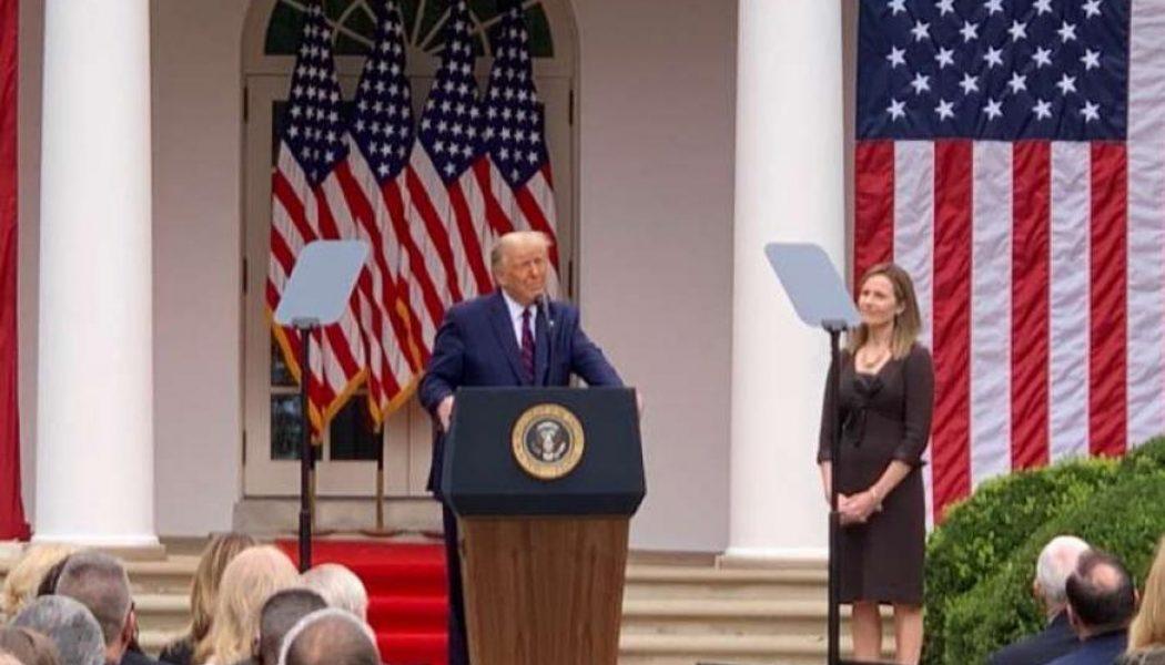 President Trump nominates Amy Coney Barrett to Supreme Court…