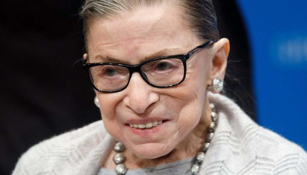This NYMag article, published two months ago, considers the possible implications of an election-season Ruth Bader Ginsburg death…