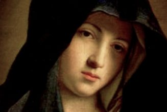What was the Blessed Virgin Mary's real name?