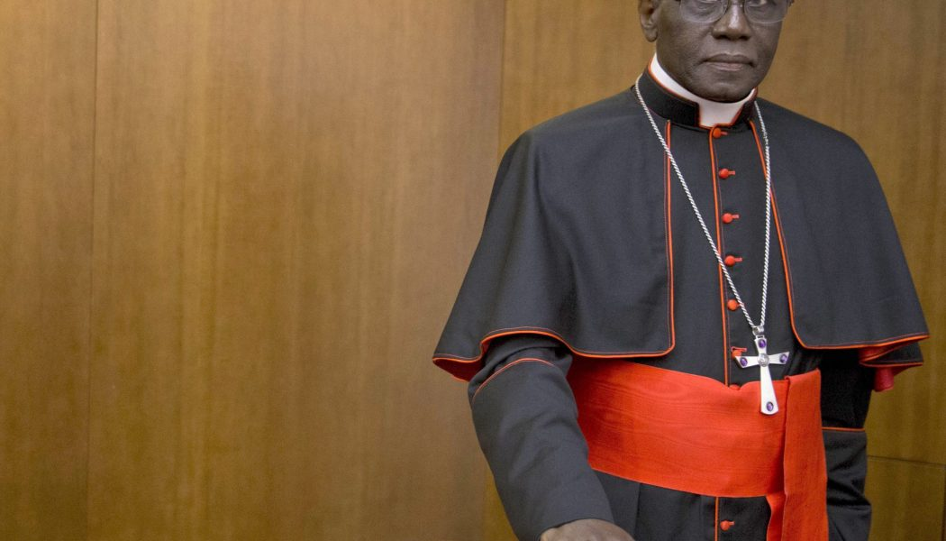 "With the Pope's okay, Cardinal Sarah sends letter to bishops worldwide, says return to public Mass as soon as possible is ""necessary and urgent""…"