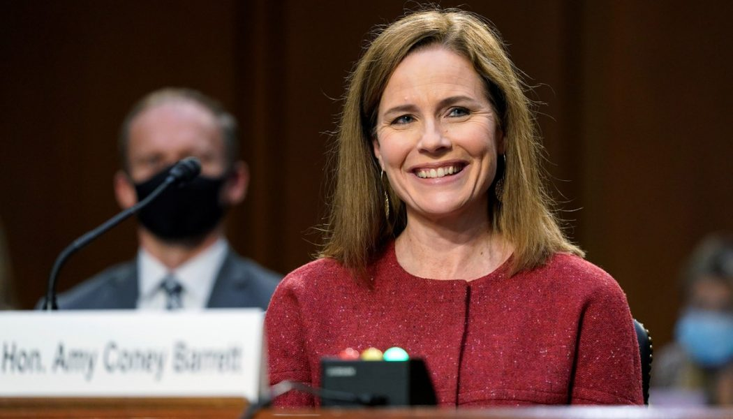 """Amy Coney Barrett's """"civic grace"""" is an antidote to the culture of contempt…"""
