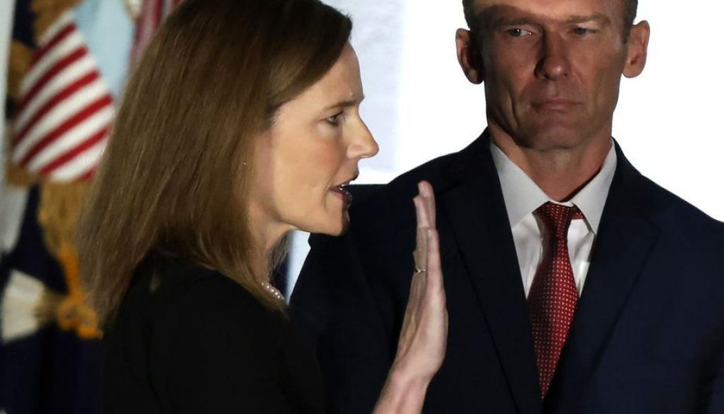 Amy Coney Barrett's confirmation signals a new chapter for Catholics and legal abortion…