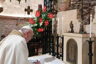 At Sunday Angelus, Pope releases new encyclical 'Fratelli Tutti,' outlining his vision of 'fraternity and social friendship'…