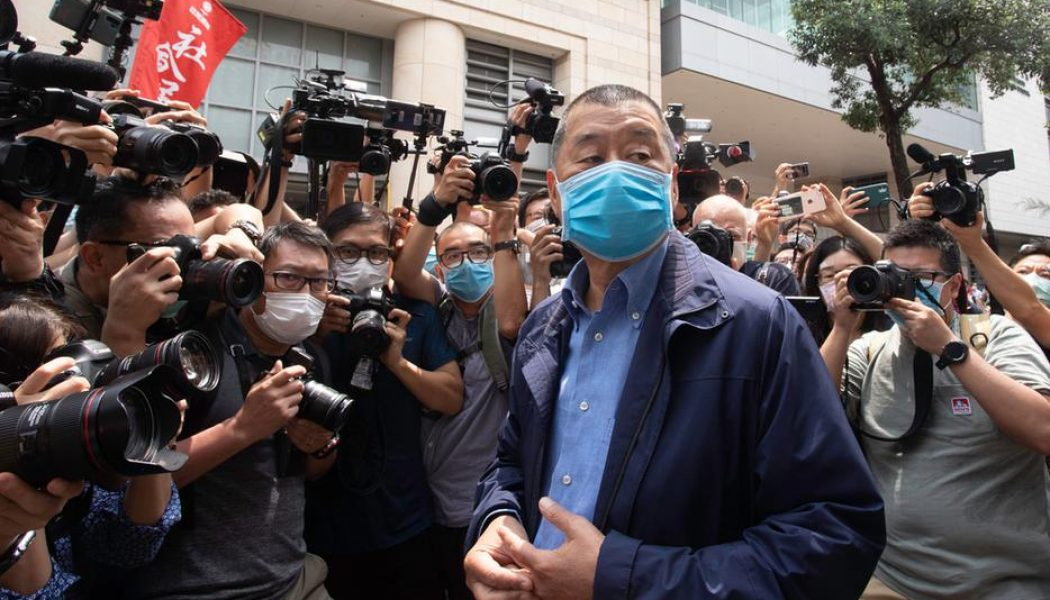 Hong Kong Catholic activist Jimmy Lai: 'The Lord is suffering with me'…