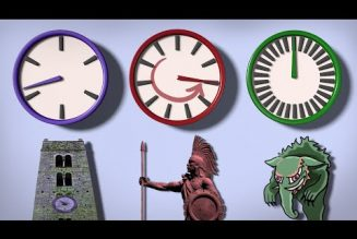 How different languages tell time, and how cultures around the world perceive time differently…