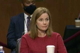 """I have no agenda"" except public service, Amy Coney Barrett tells senators on second day of confirmation hearing…"