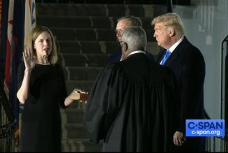 It's official: Senate votes to confirm Amy Coney Barrett to the Supreme Court…