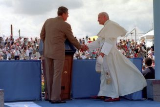 Pope John Paul II and President Ronald Reagan were a match made in Heaven…