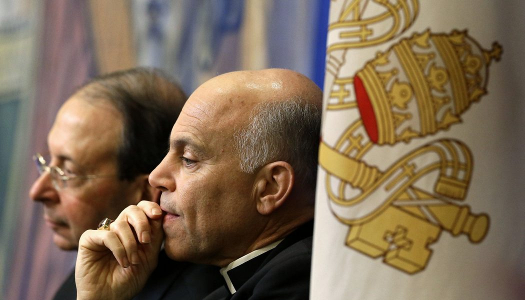San Francisco Archbishop Salvatore Cordileone says prayers of exorcism at protest site where statue of St. Junípero Serra was toppled…