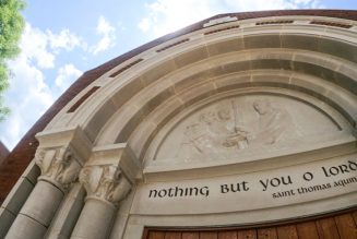 The new Catholic church for the University of Virginia evangelizes with beauty…