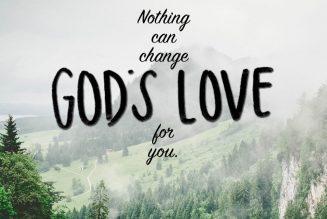 14 Inspiring Bible Verses about God's Love