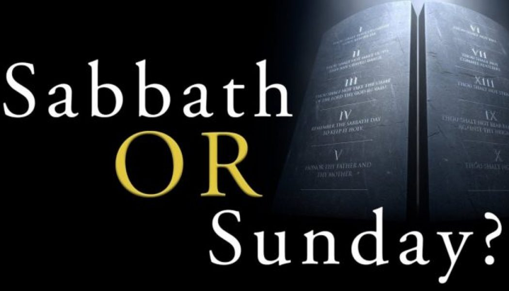 """Changing the Sabbath"" and the Antichrist…"