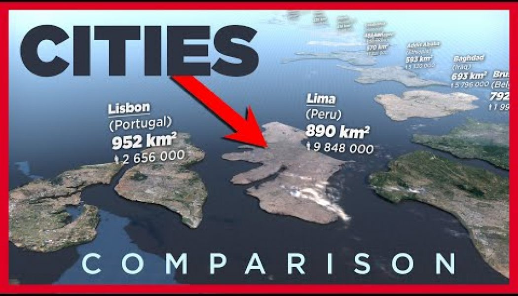 Here's a fascinating visualization of the largest cities around the world, compared to Vatican City and each other…