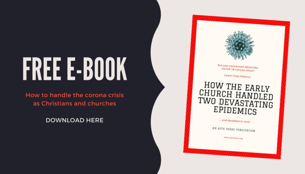 How the Early Church handled two devastating epidemics… and doubled in size!