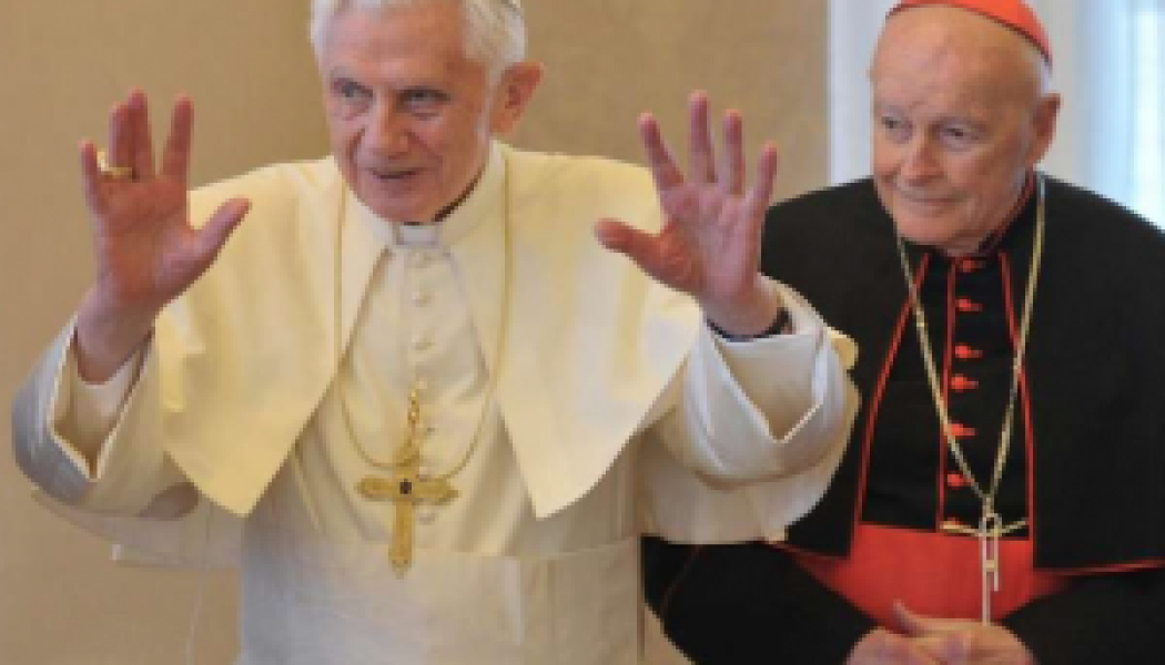 McCarrick wanted this note from Cardinal Ratzinger kept secret — but with pro-abortion Biden's election, it's as relevant as ever…