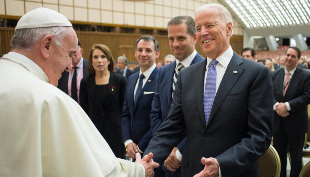 Pope Francis congratulates Biden on election victory in phone call…