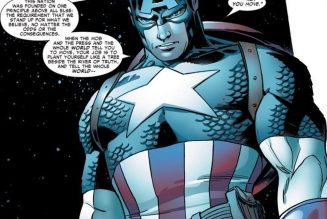 This Captain America quote will inspire you in these days following the election…