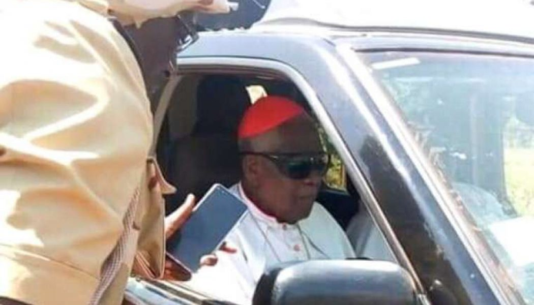 Video shows 90-year-old Cardinal Tumi telling kidnappers: 'I will preach what is the truth with pastoral and biblical conviction'…
