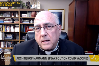 Archbishop Joseph Naumann on the ethics of COVID-19 vaccines…