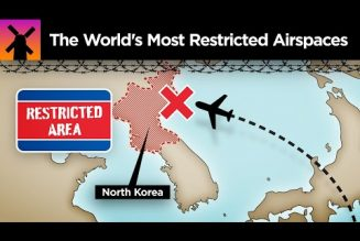 Here are the world's most restricted airspaces that you'll never fly over…