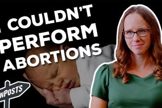 How an agnostic med student's refusal to train for abortion ended up leading her to the Catholic Church…..