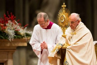 Pope Francis on New Year's Eve: At the end of a year of coronavirus pandemic, ''We praise you, God, we proclaim you Lord'…