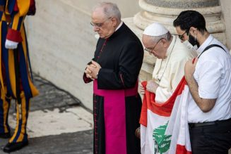 Pope Francis pens Christmas letter to 'beloved sons and daughters of Lebanon'…
