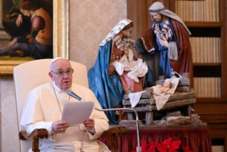 Pope's Wednesday Audience: 'Christmas is the feast of love incarnate'…