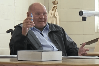 """Remembering Fr. Reginald Foster (1939-2020) — """"I believe in the beauty of Latin, I've given my life to it, and I want to share it with you""""…"""