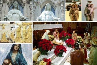 Skilled artists are renewing the majesty of traditional Catholic statues…